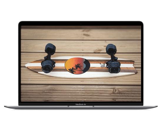 wooden board sunset -min