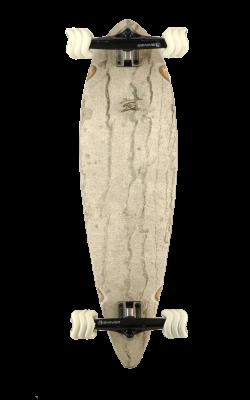 white marble - white wheels